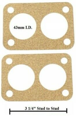 EMPI Holly//WEBER DFV Base Gaskets Isolated Type Pair