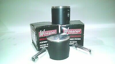 "WOSSNER SET OF 2 Piston Kits Kawasaki 550 SX 89-91 JS550 82-88 O/S+.020"" 75.50MM"
