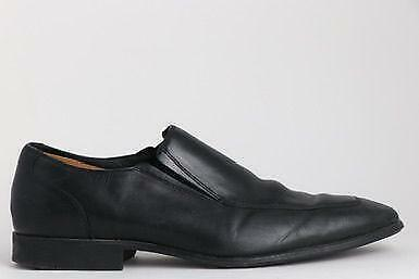 Cole Haan Black Leather Men's Loafer Shoes Size 10.5