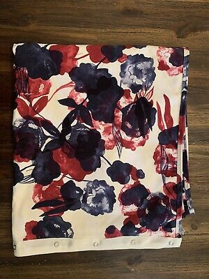 Lululemon Womens Vinyasa Scarf French Terry Cotton  Floral Print