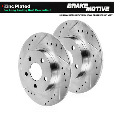 FORD OEM 00-11 Focus Brake-Rear-ABS Rotor 5S4Z2B384AA