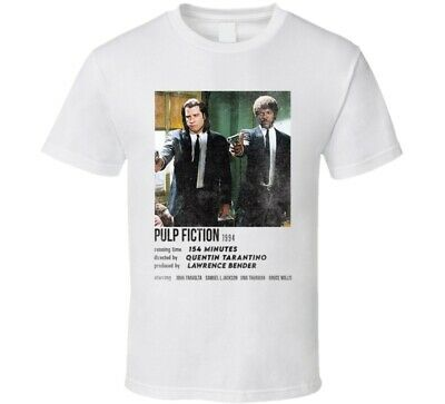 Pulp Fiction 90s Retro Movie Credits Card T Shirt