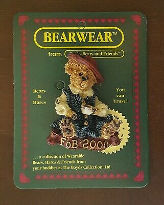 """Boyd/'s #26091 wearable PIN /""""Chilly /& Willie/"""" Christmas Pin MINT Brand New"""