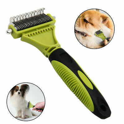 NEW Pet Cat Dog Double-sided Open Knot Hair Clean Comb Removal Grooming Tool US
