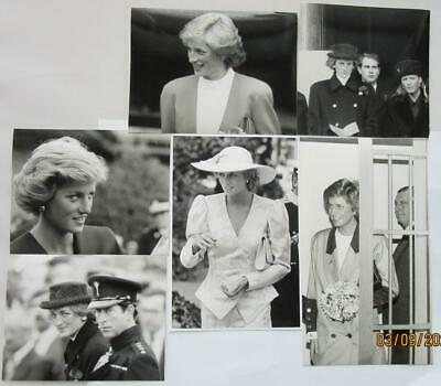 10 x Diana OFFER #6 Princess of Wales UNSIGNED photographs