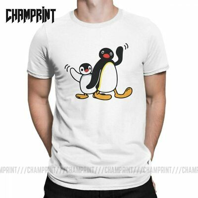 Pingu the Penguin KIDS WHITE T SHIRT ..Personalised if Required