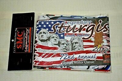 Sturgis 2012 Shot Glass  Licensed Official Product Black Hills Rally 72nd Annual