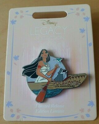 Disney Pocahontas 25th Anniversary Pin Legacy Collection Limited Release
