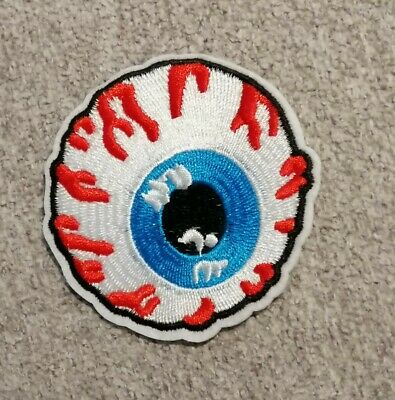 Patch écusson œil eye Mishka transfert thermocollant brodé