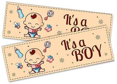 Details about  /x2 It/'s A Boy Banner Celebration Homecoming Boy Girl Baby Welcome Newborn 5