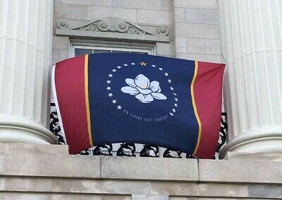 Ole Miss 2020 Flags 3x5 Magnolia Mississippi Flag God We Trust MS 100D Official