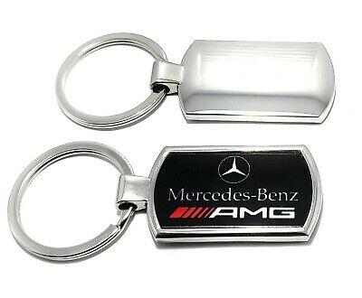"Mercedes-Benz Keyring Blue /""Untertürkheim/"" design Genuine Merch *Gift Boxed*"