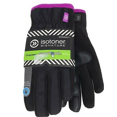 XL Isotoner Signature Smart Touch Gloves Active XL Womens Brand New $42 B66