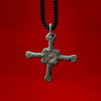 Ancient bronze cross 10-12 century Kievan Rus Vikings