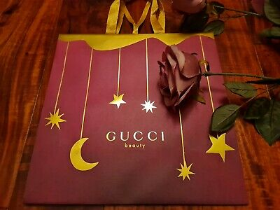 Gucci ☆SMALL PAPER GIFT BAG 28X28X13CM☆ *BRAND NEW UNOPENED* ☆STUNNING GORGEOUS☆