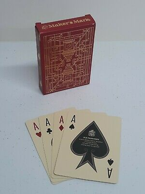 Makers Mark Bourbon Christmas 2020 PROMO Playing Cards Deck BRAND NEW!!