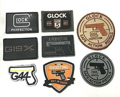 GLOCK FIREARMS RUBBER PROMO MORALE PATCH TACTICAL 2020 SHOT SHOW  AUTHENTIC NEW!