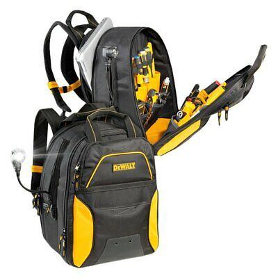 CLC Work Gear DGC533 DeWALT 33-Pocket USB Charging Tool Backpack