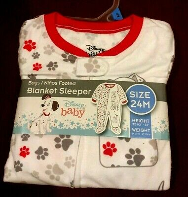 NEW infant baby blanket sleeper SIZE 24 M CATS footed fleece 2 pack  T26