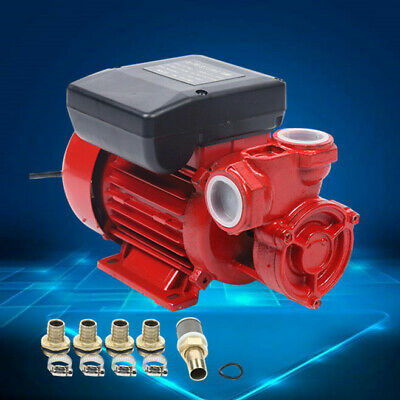 220V Electric Diesel Oil Fuel Transfer Pump Max. Lifting Height 20m 370W