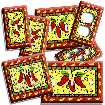 Chili Peppers Light Wreath Lighted Southwestern Kitchen Decor Red Yellow Green 10 00 Picclick