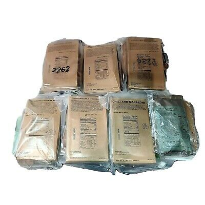 MRE Meals-Ready-To-Eat Sopakco Military Camping Survival Emergency Food Ration