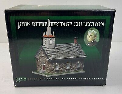 John Deere Heritage Collection #3 Grand Detour Church New in Box