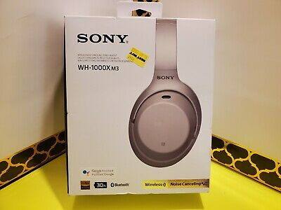 Sony WH-1000XM3 Wireless Noise Canceling Over-Ear Headphones w/Google Assistant