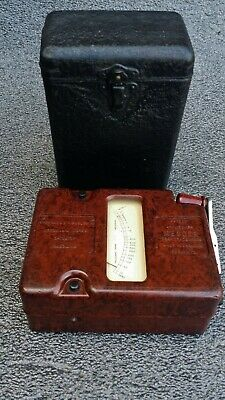 Bakelite Megger Insulation Tester By Evershed And Vignoles Ltd Acton Lane London