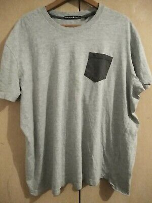 Beverley Hills Polo Club - Grey With Pocket T Shirt - Size Xl