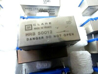 CP Clare HRB-50012 reed relay normally closed 4K ohm coil