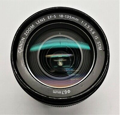 AS IS Canon Zoom Lens EFS 28-135mm 1:3.5 - 5.6 IS STM 67mm FOR PARTS