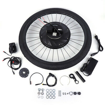 """Electric Bicycle Conversion Kit Ebike Hub Motor 240W for 26"""" Bike Front Wheel US"""