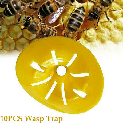 10Pcs/set Garden Bee Trap Hornet Catcher Wasp Insects Jacket Killer Pest Control