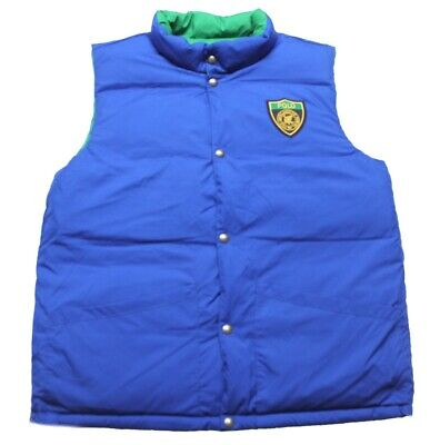 Polo Ralph Lauren DOWN reversible Padded Gillet Boys JACKET Size XL PZ03 18-20