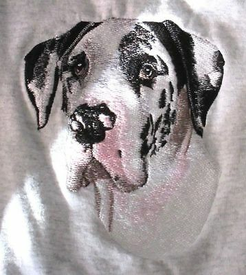 Embroidered Ladies Short-Sleeved T-Shirt - Great Dane BT3109