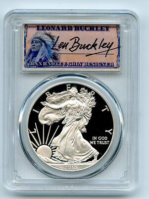 2014 W Proof American Eagle Silver Dollar with Original Packaging and COA $1 PR DCAM US Mint