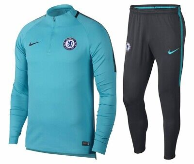 FC Chelsea Nike Junior Football Academy Dri Fit Drill Squad L Tracksuit 12-13