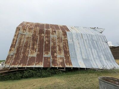 Vintage Metal Barn Tin Purchase The Whole Side of Tin For $3450.00