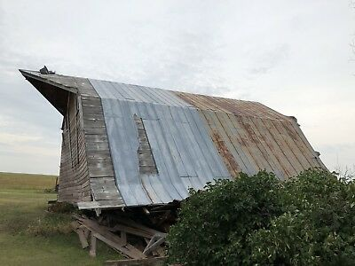 Vintage Metal Barn Tin Purchase The Whole Side of Tin For $5999.00