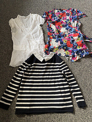 Lovely bundle of tops size 14 NOUGAT GREAT PLAINS & OASIS