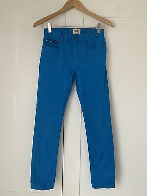 FO Boys Tommy Hilfiger Bright Blue Jeans approx Age 10