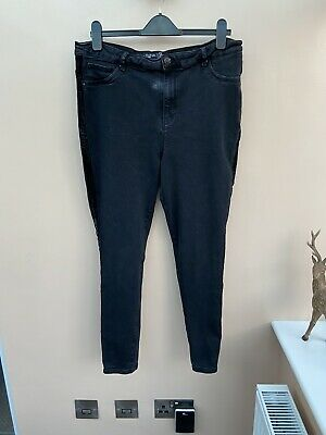 Simply Be Ladies Skinny Jeans Jeggings Size 20 Stretch Slimming Next P&P Black