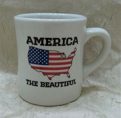 Waffle House 2012 America The Beautiful Mug Coffee Cup