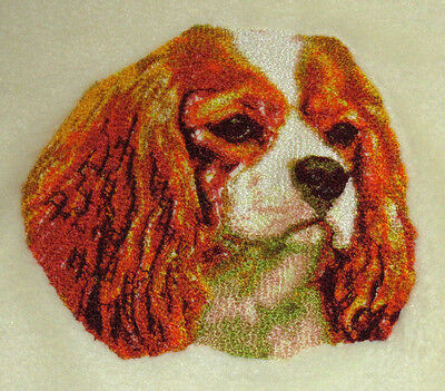 Embroidered Sweatshirt - Cavalier King Charles Spaniel DLE1504  Sizes S - XXL