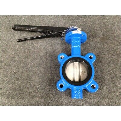"""FNW FNW732EM Ductile Iron Lug Style Butterfly Valve, 3"""""""