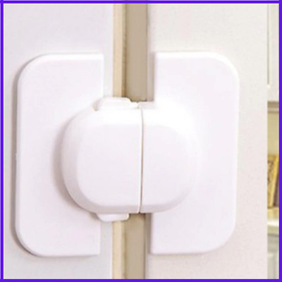 Safety Door Lock For Fridge And Cabinet Cupboard Prevent Clamping  Safety Locks