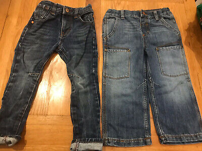 Boys Blue Jeans Bundle Age 2 - 3 NEXT GEORGE