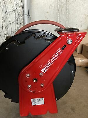 New Reelcraft Spring Retractable Hose 35Ft Air/Water Rt635-Olp94
