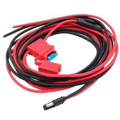 DC 12V Power Cable Cord HKN4137A for MOTOROLA xPR4350 xPR4380 xPR4550 xPR45 D6Y5